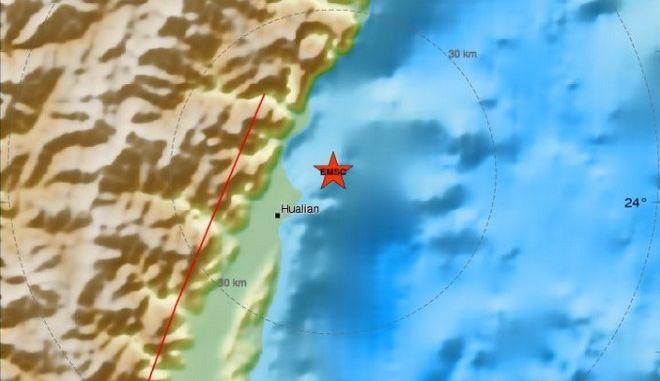 Ισχυρός σεισμός 6,1 Ρίχτερ στην Ταϊβάν