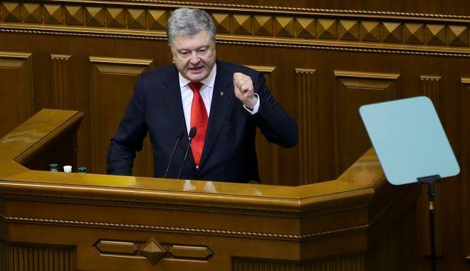Ο Ουκρανός πρόεδρος Πέτρο Ποροσένκο