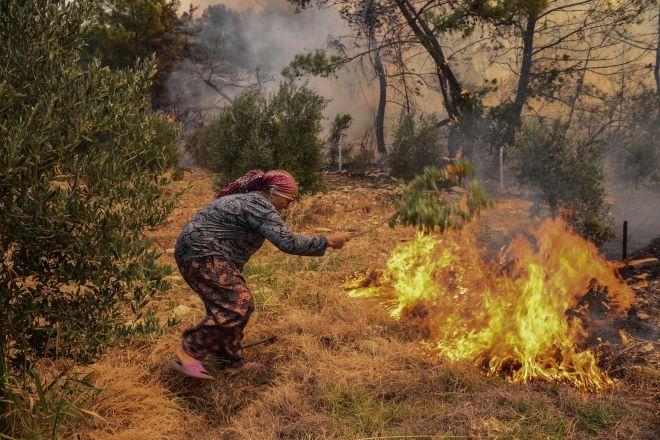 Φωτιές στην Τουρκία