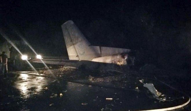 Συντριβή αεροσκάφους στην Ουκρανία