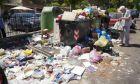 Σκουπίδια στους δρόμους της Ρώμης, Ιταλία