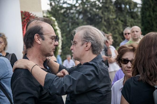 Πασχαλίδης και Ιωάννου στην κηδεία του Λαυρέντη Μαχαιρίτσα