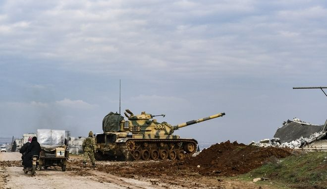Τουρκικός στρατός στη Συρία