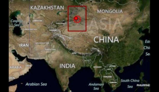 Σεισμός 4,7 Ρίχτερ στην Κίνα