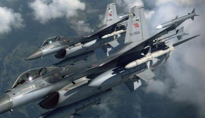 Νέες παραβιάσεις από τουρκικά μαχητικά F-16