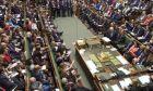 Η βρετανική βουλή. Φωτογραφία αρχείου.