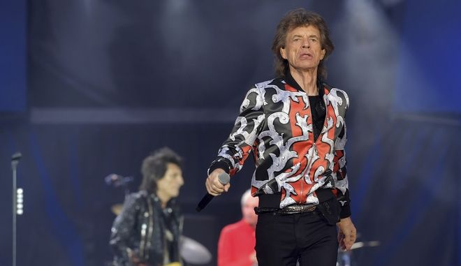 Ο frontman των Rolling Stones Μικ Τζάγκερ