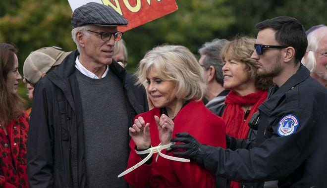 Jane Fonda και Ted Danson, 25 Οκτώβρη του 2019