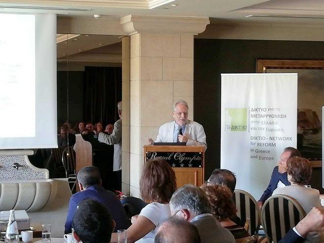 Πρόγευμα Εργασίας: Προϋπόθεση της ανάπτυξης η χάραξη εθνικής στρατηγικής στην Έρευνα και την Καινοτομία
