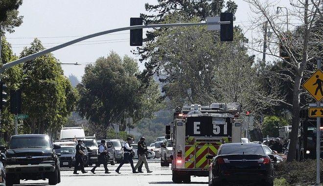 Επέμβαση της αστυνομίας μετά από ένοπλη επίθεση στα κεντρικά του YouTube