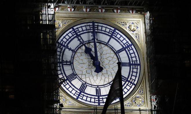Το Big Ben σήμανε Brexit