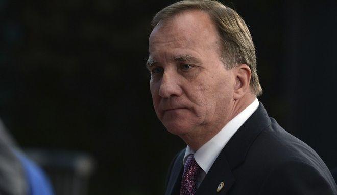 Ο πρωθυπουργός της Σουηδίας, Στέφαν Λεβέν