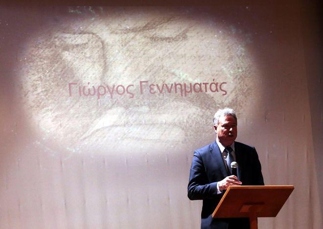 Εκδήλωση στη μνήμη του Γιώργου Γεννηματά, Τετάρτη 17 Απριλίου 2019.. (EUROKINISSI/ ΧΡΗΣΤΟΣ ΜΠΟΝΗΣ)