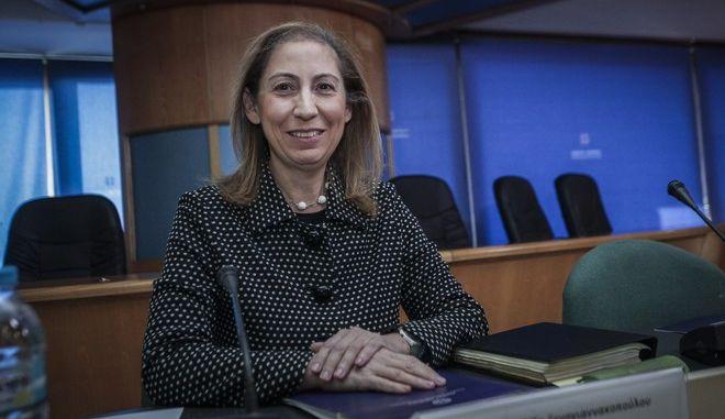 H υπουργός Διοικητικής Ανασυγκρότησης, Μαριλίζα Ξενογιαννακοπούλου