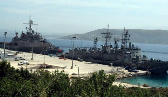 Το Κέντρο Εκπαίδευσης Ναυτικής Αποτροπής (ΚΕΝΑΠ) στη Ναυτική Βάση της Σούδας
