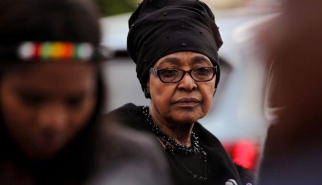 H Ουίνι Μαντέλα (AP Photo/ Sumaya Hisham, Pool)