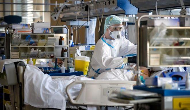 Στιγμιότυπο από νοσοκομείο της Ιταλίας