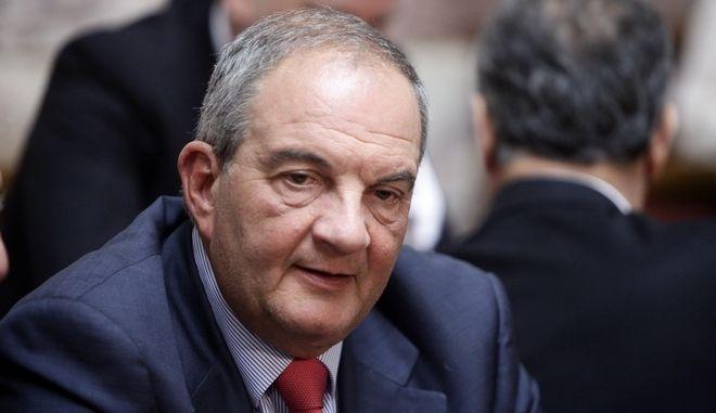 Ο πρώην πρωθυπουργός , Κώστας Καραμανλής
