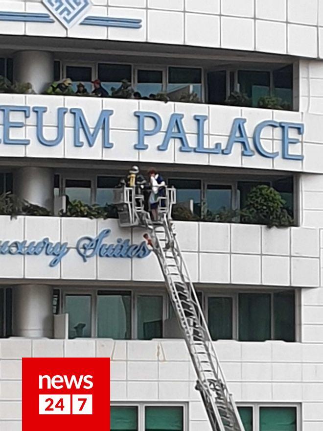 Φωτιά στο ξενοδοχείο