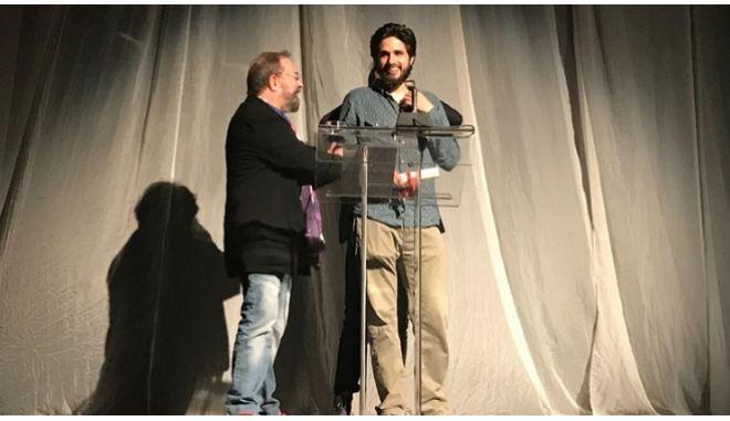 Ο νικητής του βραβείου Χορν, Γιάννης Νιάρρος
