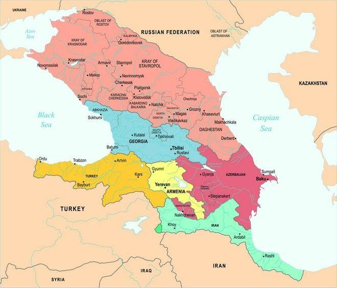 Χάρτης: Γιατί η Αρμενία κόβει στη μέση το Αζερμπαϊτζάν