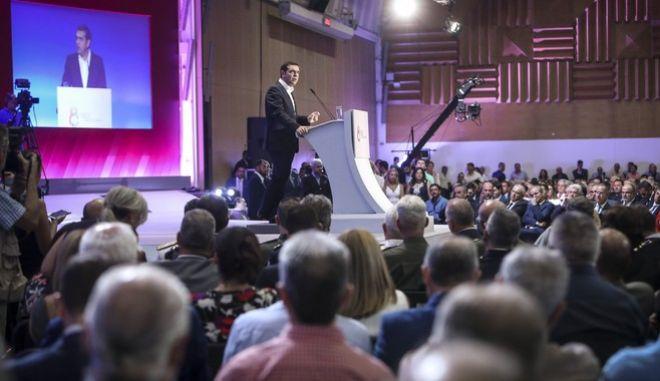 Ομιλία του Πρωθυπουργού Αλέξη Τσίπρα, στην τελετή εγκαινίων της 83ης ΔΕΘ
