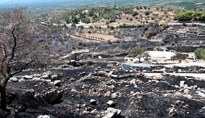 Η θλιβερή εικόνα του αρχαιολογικού χώρου από τον φωτογραφικό φακό του News247