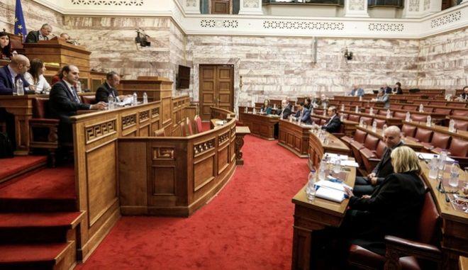 """Επεξεργασία και εξέταση στην Επιτροπή Οικονομικών Υποθέσεων της Βουλής, του σχεδίου νόμου του Υπουργείου Οικονομικών """"Φορολογική μεταρρύθμιση με αναπτυξιακή διάσταση για την Ελλάδα του αύριο""""."""