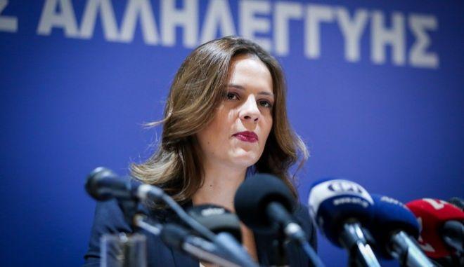 Συνέντευξη της Υπουργού Εργασίας, Εφη Αχτσιόγλου