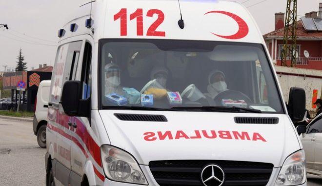 Τουρκικό ασθενοφόρο