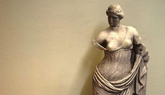 Το άγαλμα της Αφροδίτης που εκλάπη και εντοπίστηκε από τις Αρχές