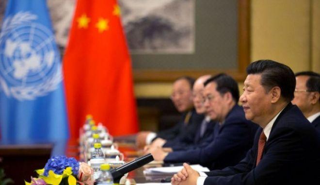 Πλήρη απαγόρευση πυρηνικών όπλων ζητά ο πρόεδρος της Κίνας
