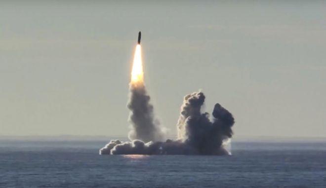Ρώσικες δοκιμές στην Λευκή Θάλασσα
