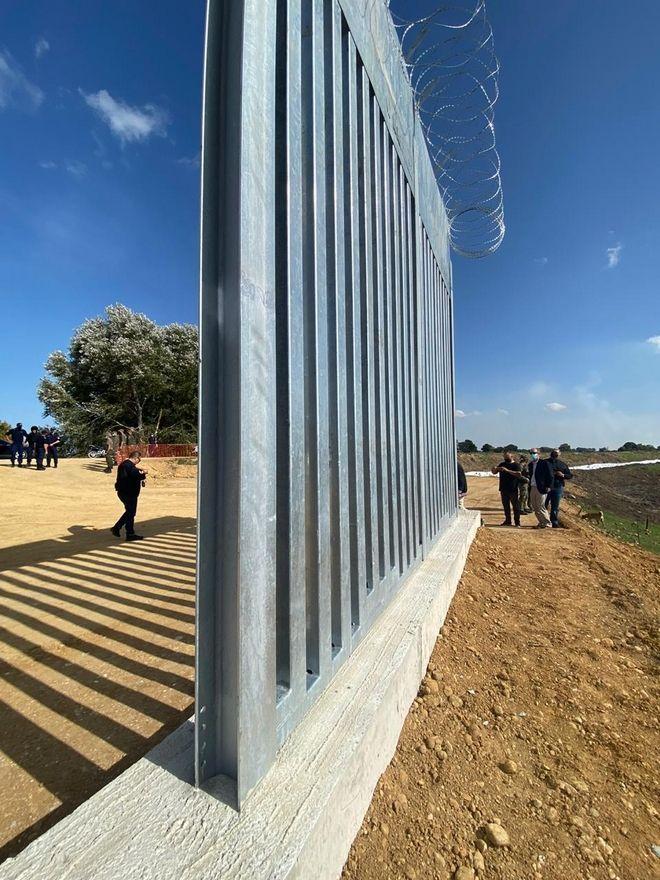 Μητσοτάκης: Τον Απρίλιο ολοκληρώνεται ο νέος φράχτης στον Έβρο