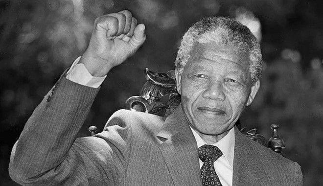 Ο Νέλσον Μαντέλα