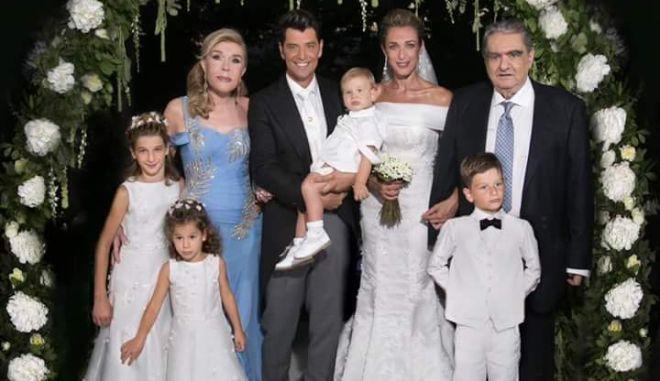 Γάμος Ρουβά - Ζυγούλη: Η πρώτη επίσημη φωτογραφία