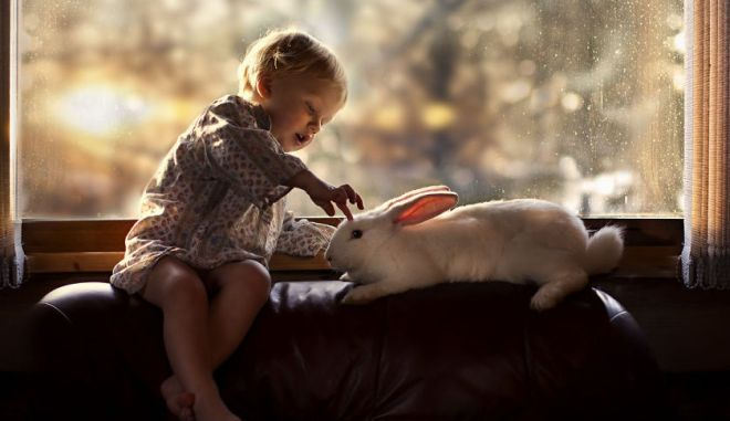 φωτογραφίες παιδιά κατοικίδια ζώα