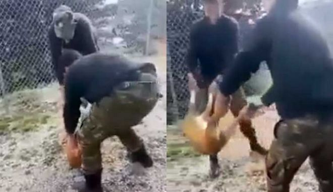 Καταδικάστηκαν οι τρεις φαντάροι για την κακοποίηση σκύλου