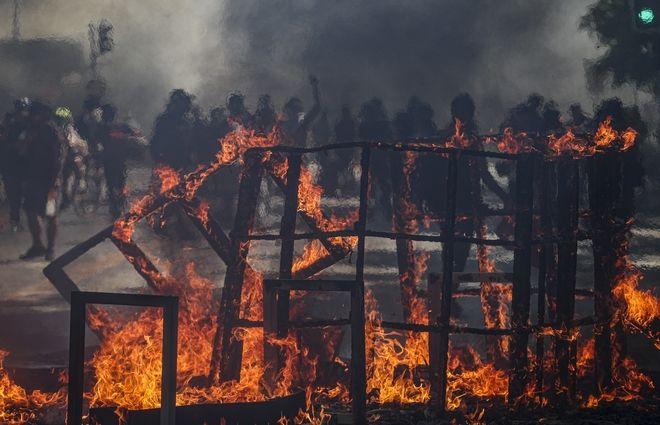 Ταραχές στη Χιλή