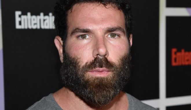 Dan Bilzerian arrives at Entertainment Weekly's Annual Comic-Con Closing Night Celebration at the Hard Rock Hotel on Saturday, July 26, 2014, in San Diego. (Photo by John Shearer/Invision for Entertainment Weekly/AP Images)