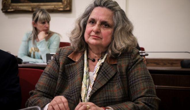 Η κυρία Ζαϊρη στη Βουλή