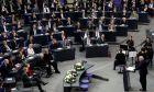 Στιγμιότυπο από το Γερμανικό Κοινοβούλιο