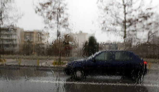 Bad weather from today in Thessaloniki./    .