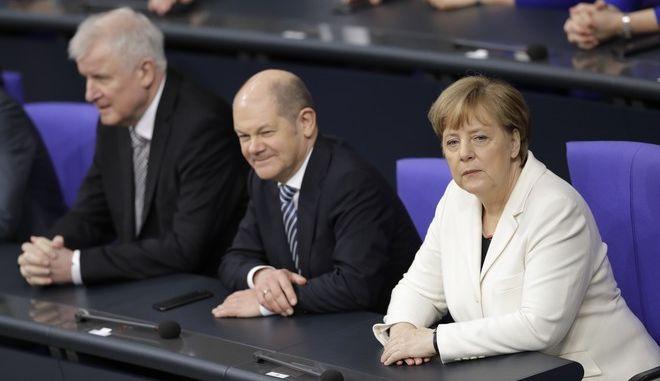 Το γερμανικό κυβερνητικό επιτελείο