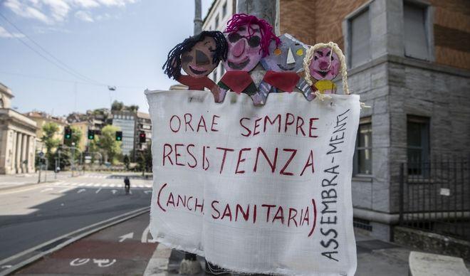 Αντίσταση για πάντα και υγειονομική, το μήνυμα από την Ιταλία