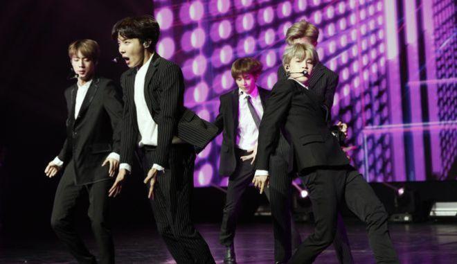 Το νοτιοκορεατικό συγκρότημα BTS