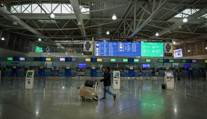 Περιορισμένη η κίνηση στο αεροδρόμιο Ελ. Βενιζέλος