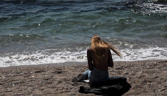 Παραλία Φαλήρου. Φωτο αρχείου.