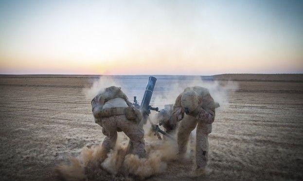 Αμερικανικά στρατεύματα στη Συρία