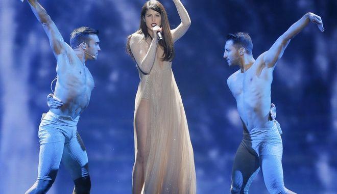 Η περσινή συμμετοχή της Ελλάδας στη Eurovision, στο Κίεβο της Ουκρανίας